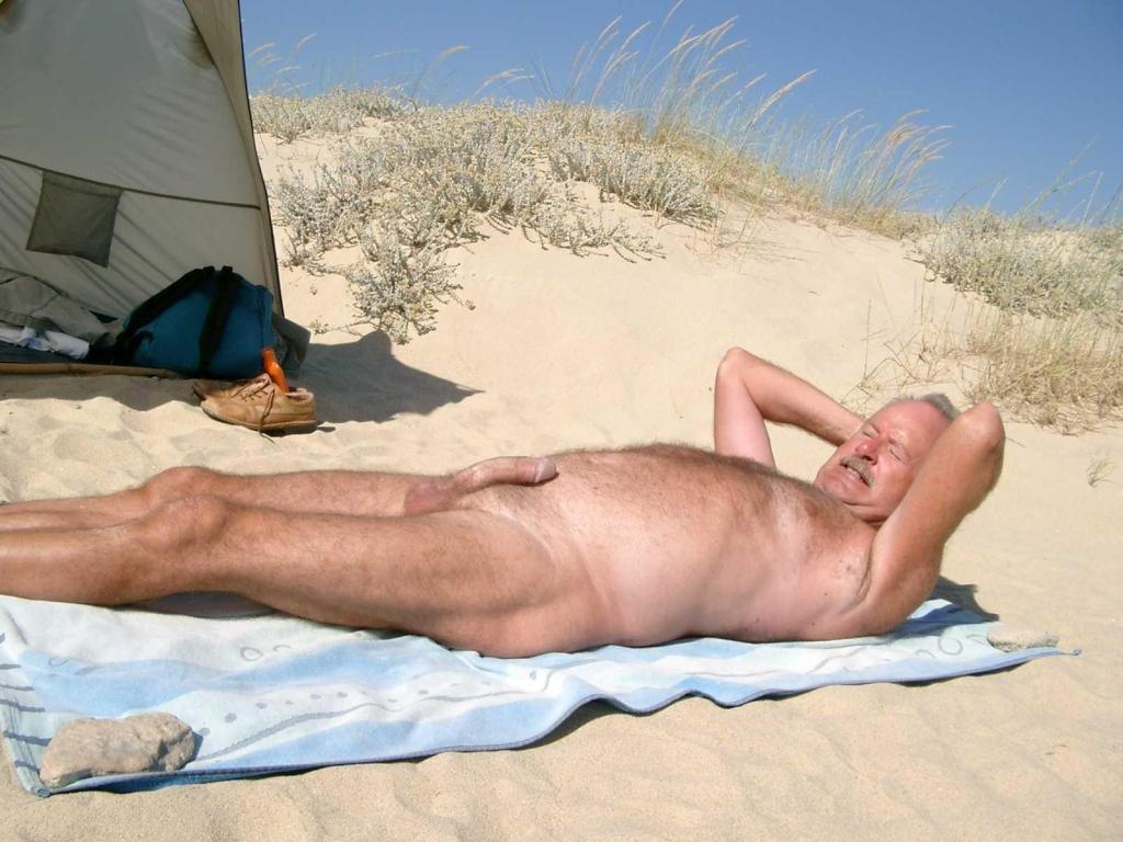 Exhibitionist Beach Nude Boysmen-4968