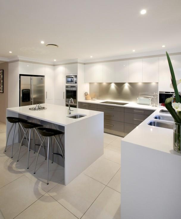 Triangle Kitchen Design: It's A Colourful Life
