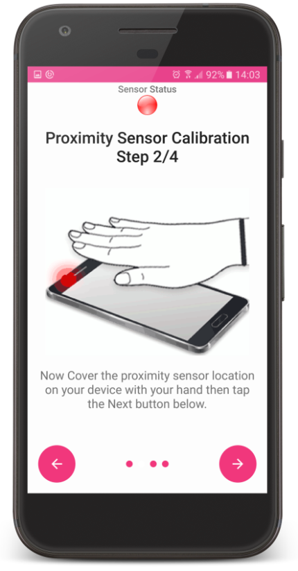 How to fix android phone proximity sensor not working during call