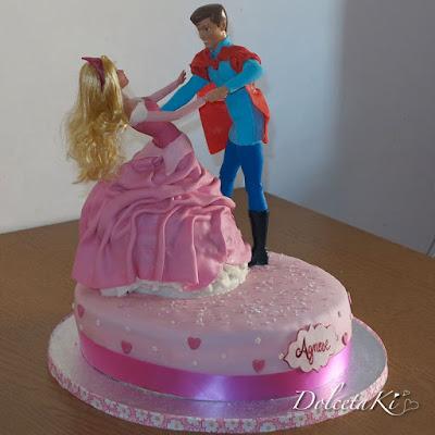 torta ballo principessa aurora e principe