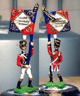 Der Kriegspielers DK 7: French Line Infantry Command, Standard Bearer