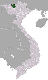 ベトナム・ラオカイ省