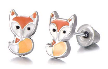 3c7e70e5f6aed 30 Pairs Stainless Steel Cute Animals Stud Earrings Set $12 at ...