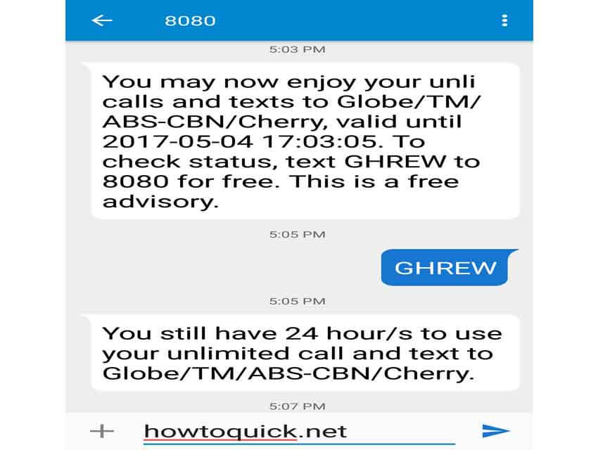 Globe Ghrew 10 Pesos 1 Day Unli Call And Text Promo Just For You