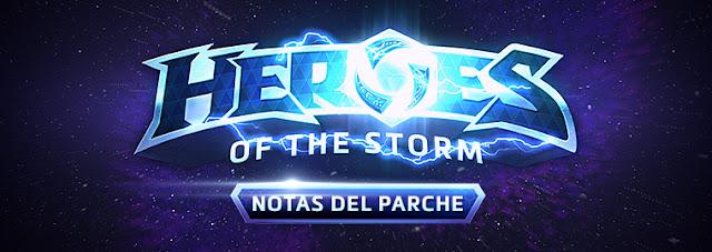 Nuevo parche de Heroes of the Storm 22 de mayo de 2018