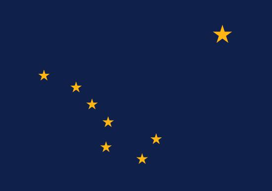Bandeira do Alasca
