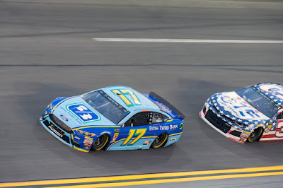After Leading 51 Laps, Stenhouse Jr. Salvages a 17th-Place Finish at Daytona