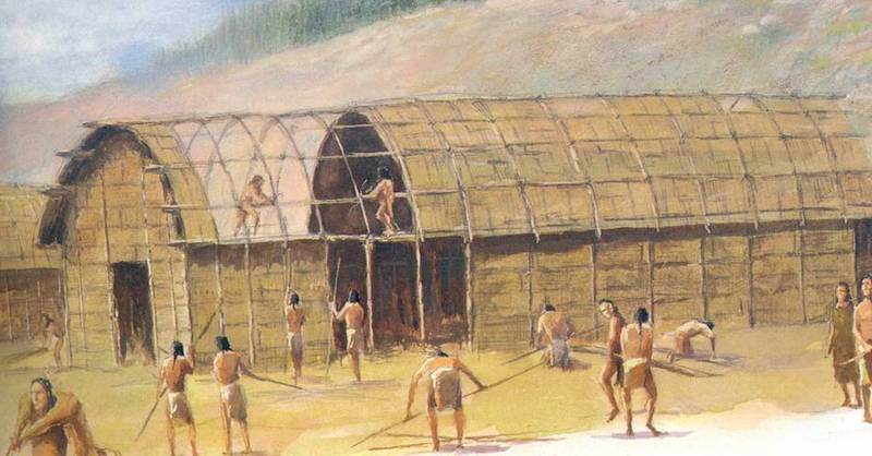 Heroes Heroines And History The Iroquois Longhouse