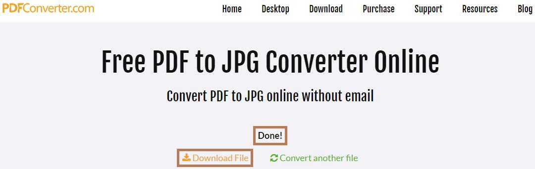 Cara mengubah PDF ke gambar dengan PDF Converter