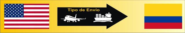 cuanto cuesta un envio de estados unidos a colombia aduana