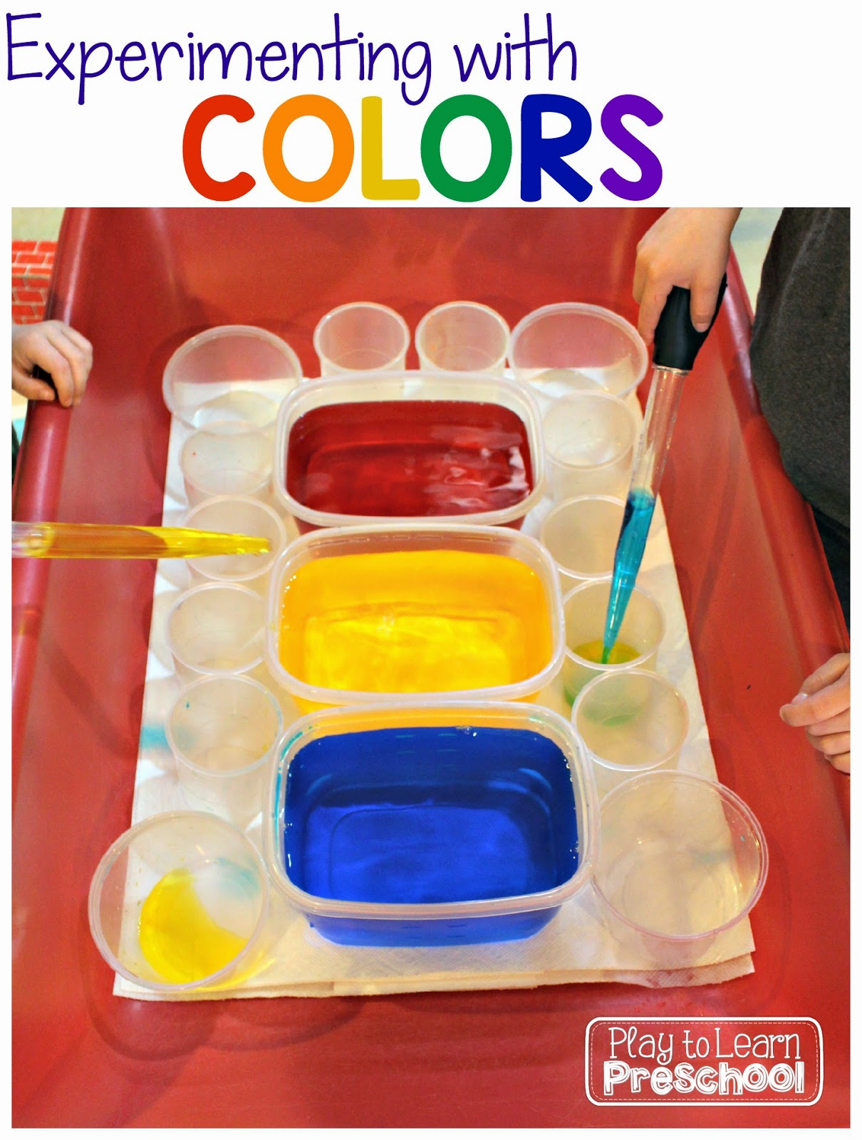 The Primary Pack Color Theory Experiments
