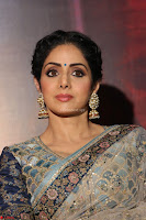 Sri Devi in designer saree stunning beauty at the launch of MOM movie Trailer~  Exclusive 069.JPG
