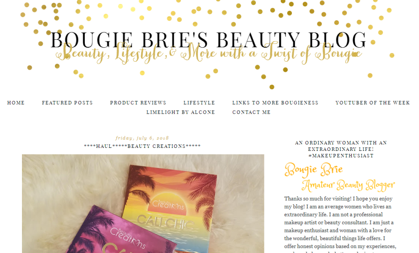 bbloggers ,bblogger, beauty blog, featured blog, featured blogger, blog of the month, bougie brie