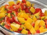 Mango Strawberry Salad