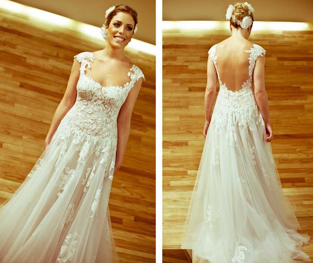 Fabiana Justus vestido de noiva