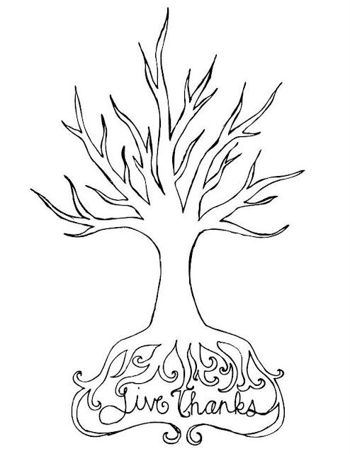Make a Thanksgiving Countdown Tree {holiday printable