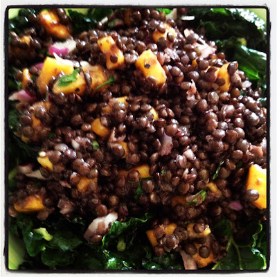Meatless Monday: Lentil Mango Salad