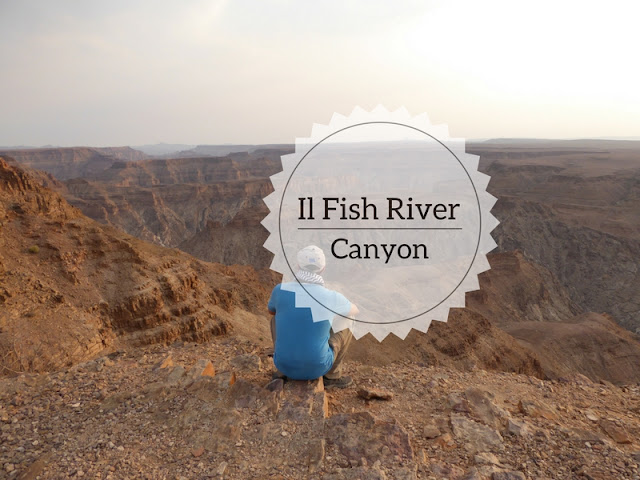 Uno dei punti panoramici del Fish River Canyon