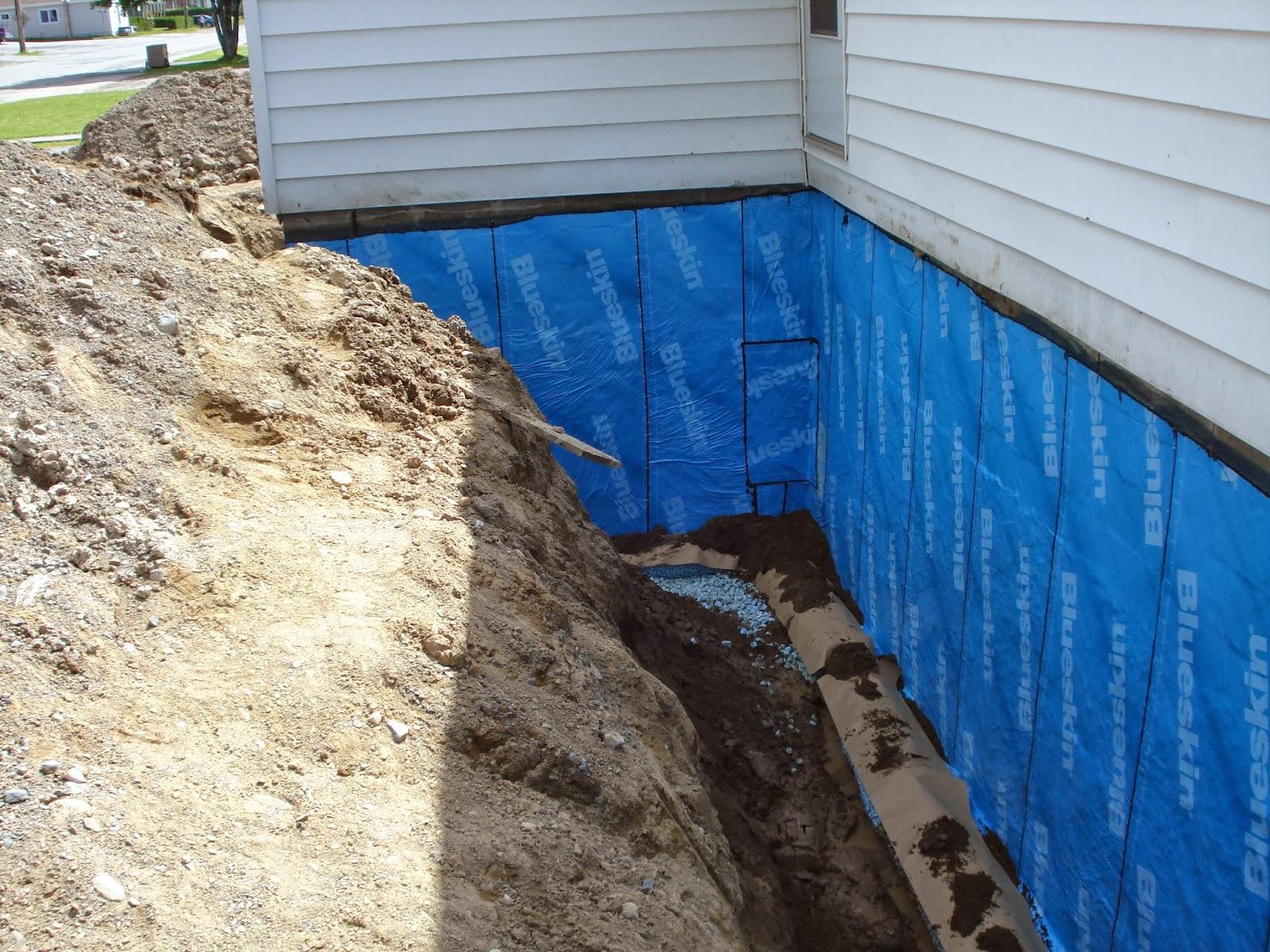 Waterproofing Stone Basement Walls ...