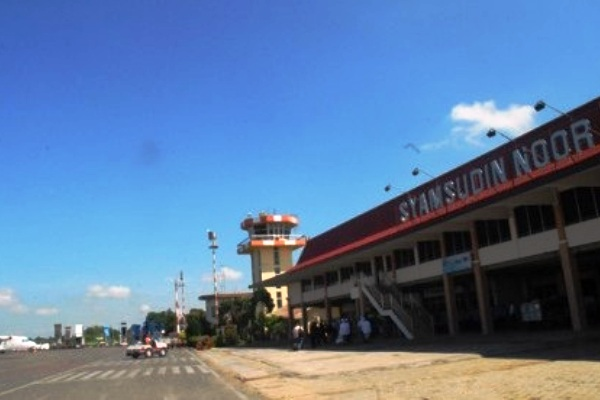 syamsudin noor airport banjarmasin south kalimantan