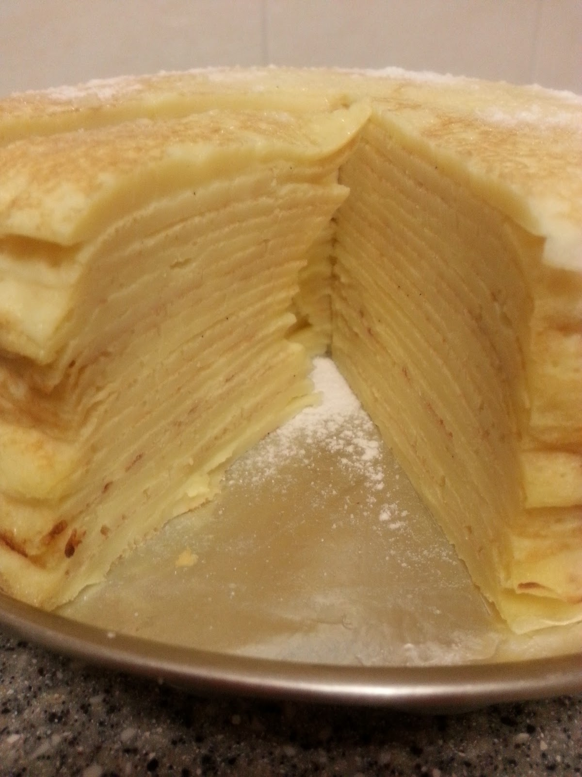 Easy Mille Crepe Cake Recipe