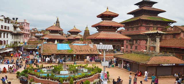 Vishwaroop mandir nepal - విశ్వరూప మందిరం ఖాట్మండు
