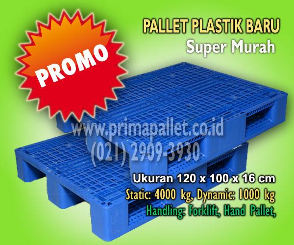 Pallet Plastik Murah HDPE Kuat Untuk Racking