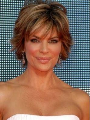 gaya rambut pendek disemir wanita 2007