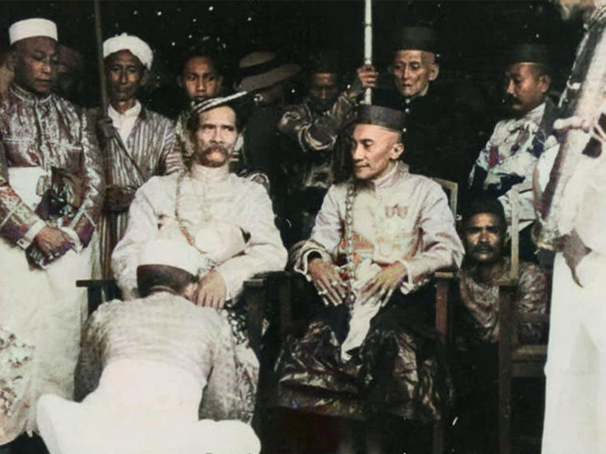 Raja sultan Gowa tallo Makassar