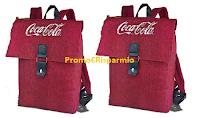 Logo Coca-Cola: gioca lo scontrino e vinci 1 dei 1.000 zaini brandizzati