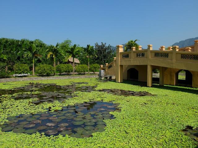 hotel emeralda reserve van long van gien vietnam bassin
