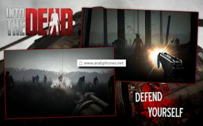 تحميل لعبة Into The Dead v2.1 apk مهكرة للاندرويد