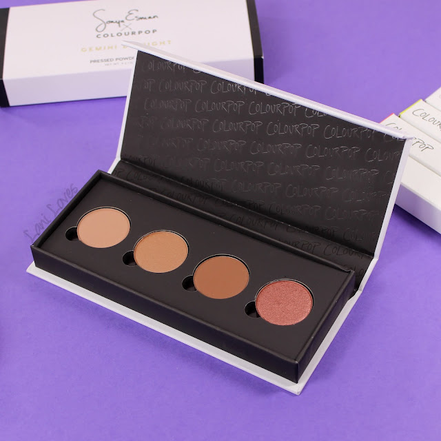 ColourPop Gemini By Night Eyeshadow Palette Swatches & Review