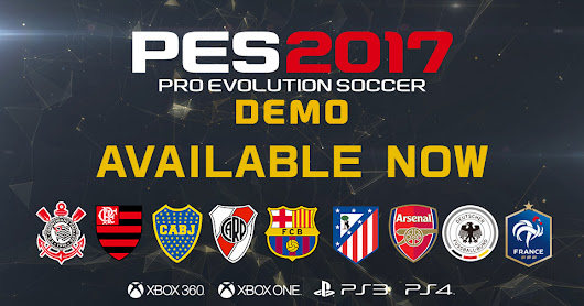 Brazukas PC Team: PES 2017 Demo
