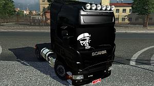 Scania Black Beast