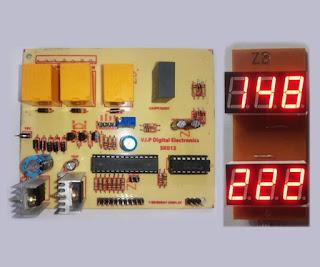 Automatic Voltage Stabilizer Circuit (3 Relay)(7 Segment ...