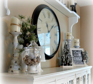 simple winter decor
