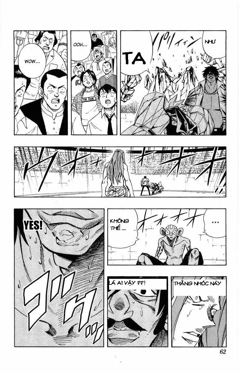 Shaman King [Vua pháp thuật] chap 227 trang 11