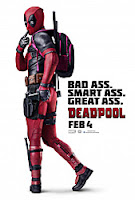 deadpool - bad ass, smart ass, great ass