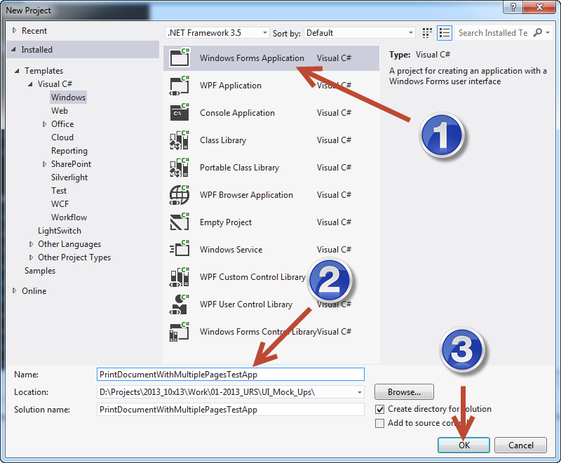 WhiteBoard Coder: Visual Studio 2012 C# Print more than one page