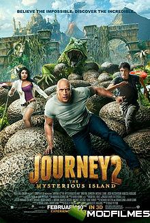 Capa do Filme Viagem 2: A Ilha Misteriosa
