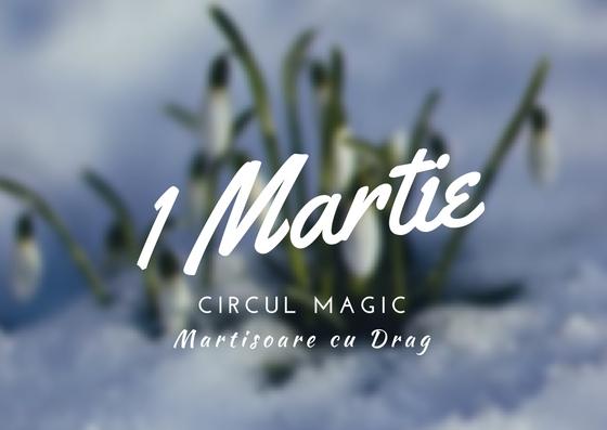 Martisoare Quilling 2017 Ghiocei Handmade Circul Magic