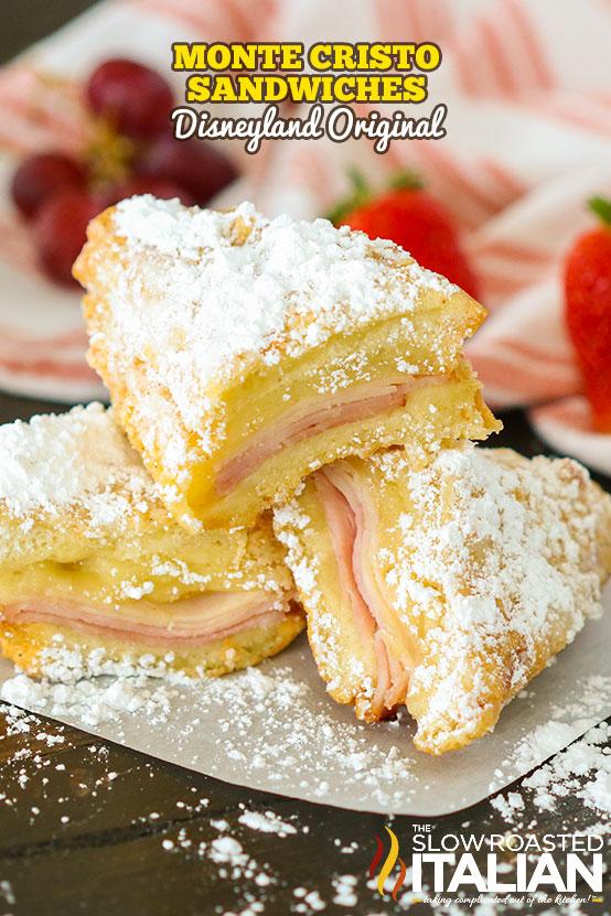 Monte Cristo sandwich - Disneyland official