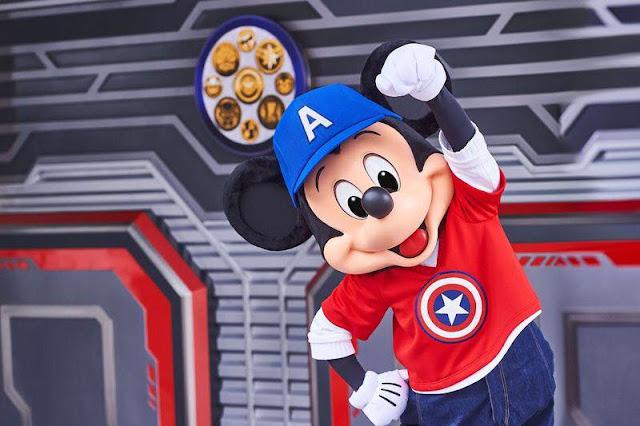 Marvel米奇 Mickey Re-imagined Meet and Greets 放玩奇妙當夏香港迪士尼樂園度假區 Hong Kong Disneyland Resort Summer Chill