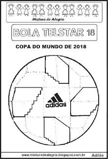 Bola Telstar copa mundial 2018