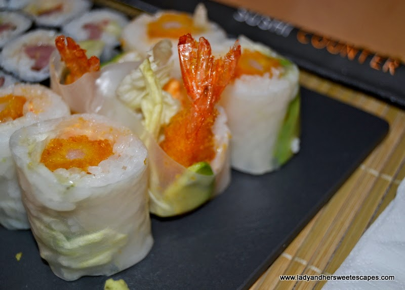 Summer Rolls at Sushi Counter Dubai