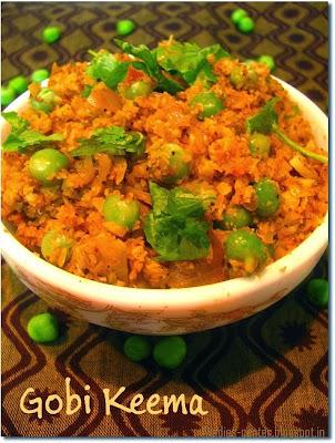 Gobi Keema Recipe