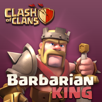 Clash Of Clans Barbarian King Archer
