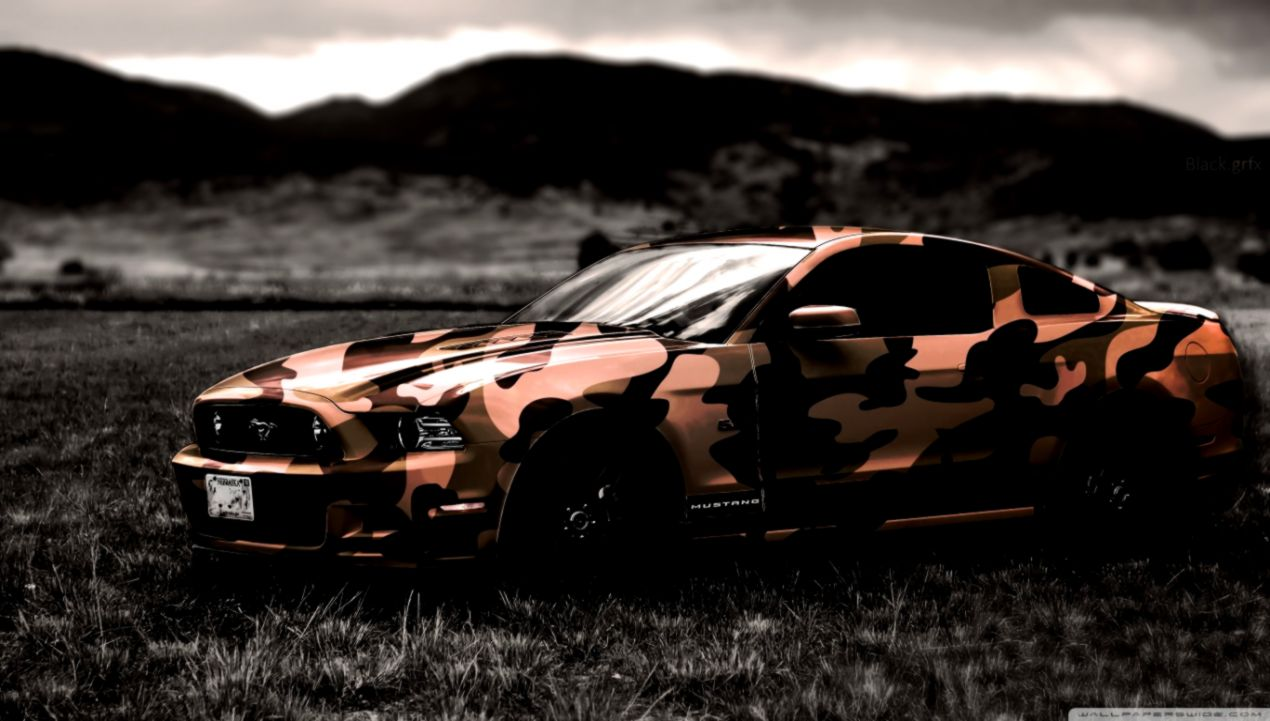 2015 Ford Mustang Hd Wallpaper Wide Wallpapers Up
