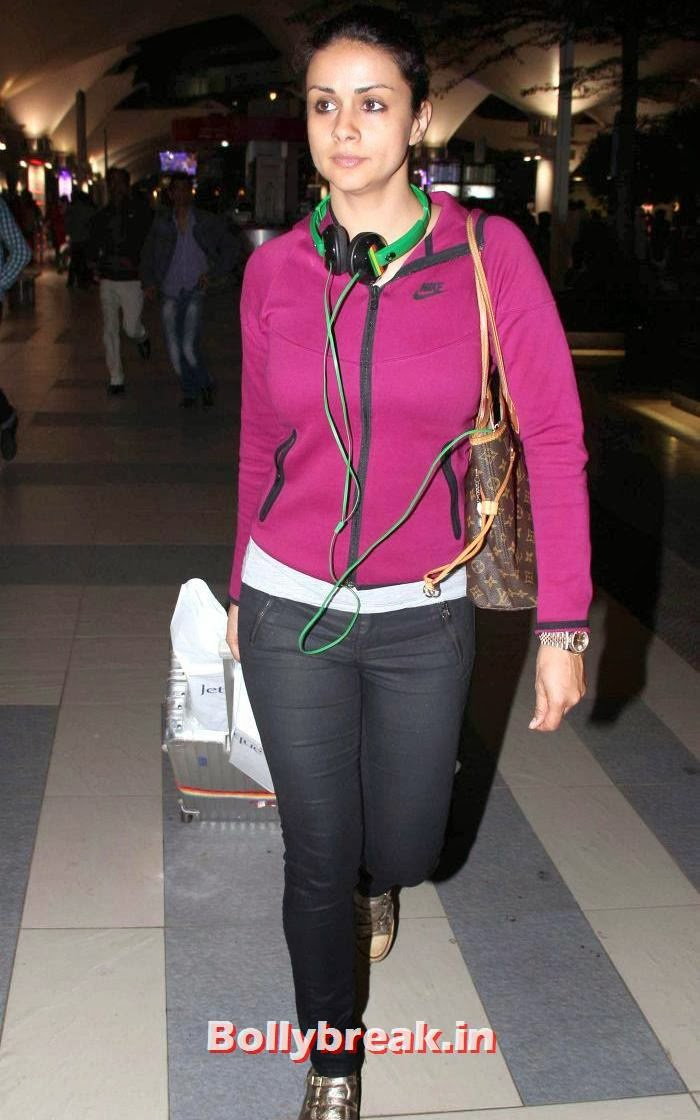 Gul Panag, New Year Celebrations: Various Celebs Snapped at Airport